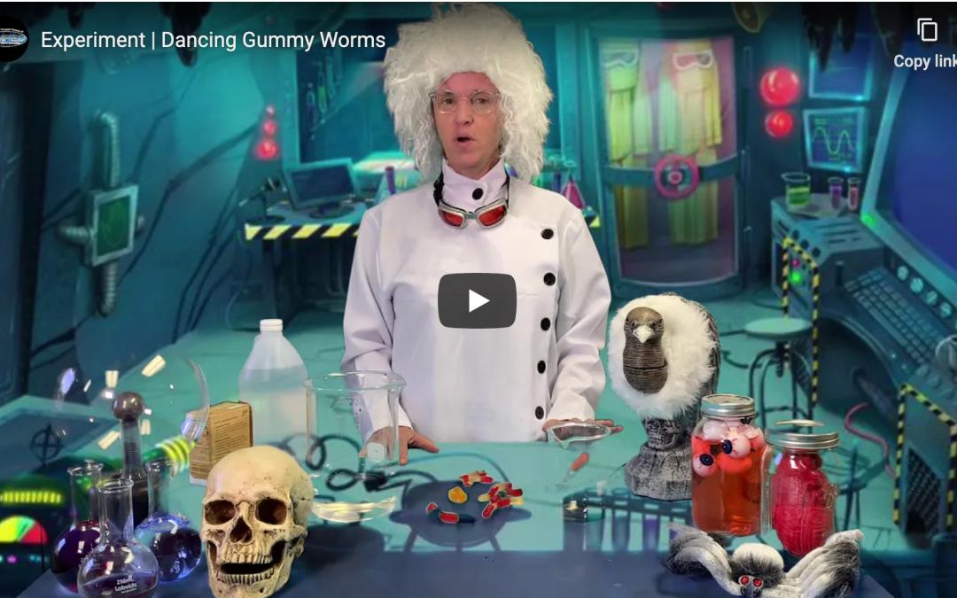 Dancing Gummy Worms
