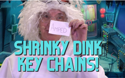 Shrinky Dink Key Chain