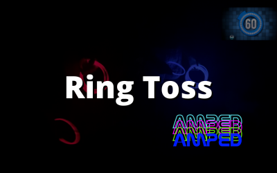 Glow in the Dark Ring Toss!
